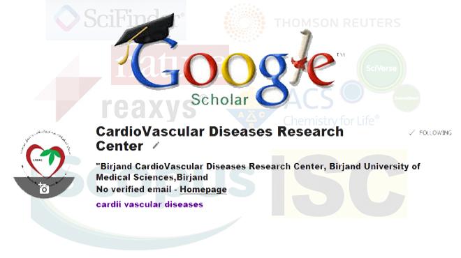 گوگل اسكولار مركز تحقيقات بيماريهاي قلب و عروق